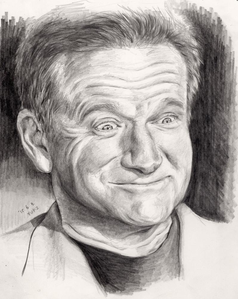 Robin Williams par Yuki